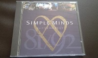 SIMPLE MINDS - GLITTERING PRIZE 81/92, CD