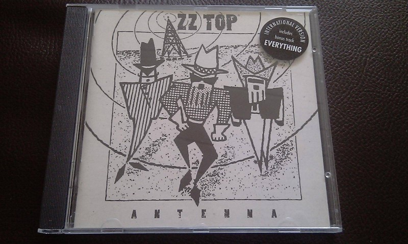 ZZ TOP - ANTENNA, CD