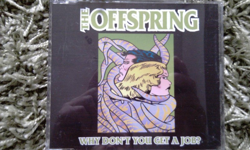 THE OFFSPRING - WHY DON´T YOU GET A JOB?, MAXI-CD