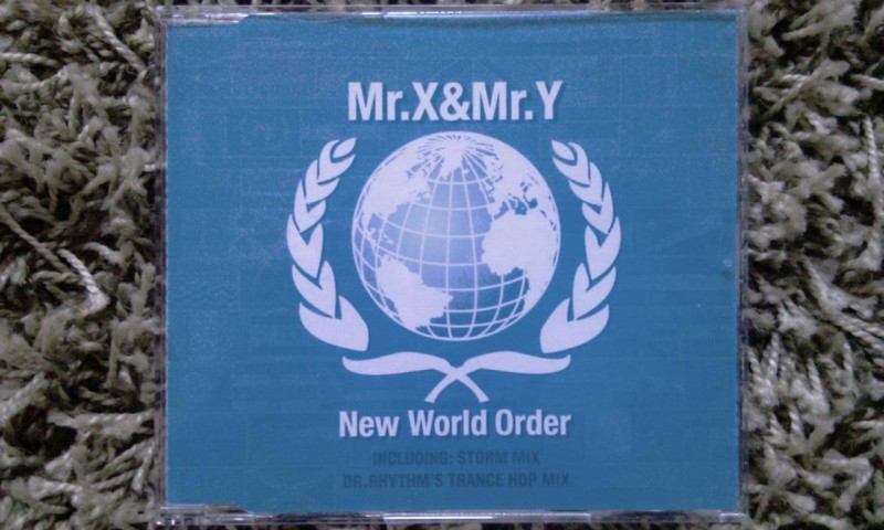 MR. X & MR. Y - NEW WORLD ORDER, MAXI-CD