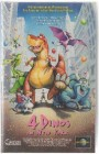 4 Dinos in New York PAL VHS Universal CIC (#12)