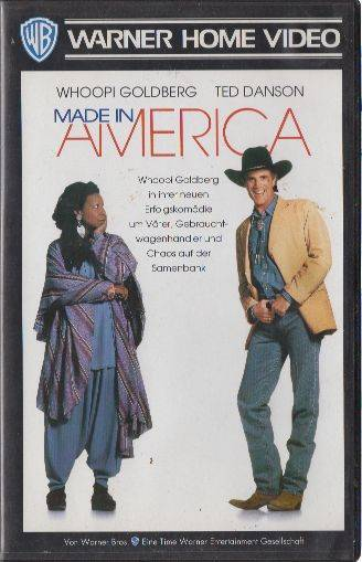 Made In America PAL VHS Warner (#12)
