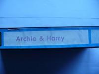 Archie & Harry ... Burt Lancaster ...  ohne Cover !!