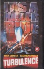Turbulence IMPORT PAL VHS Entertainment IV (#10)