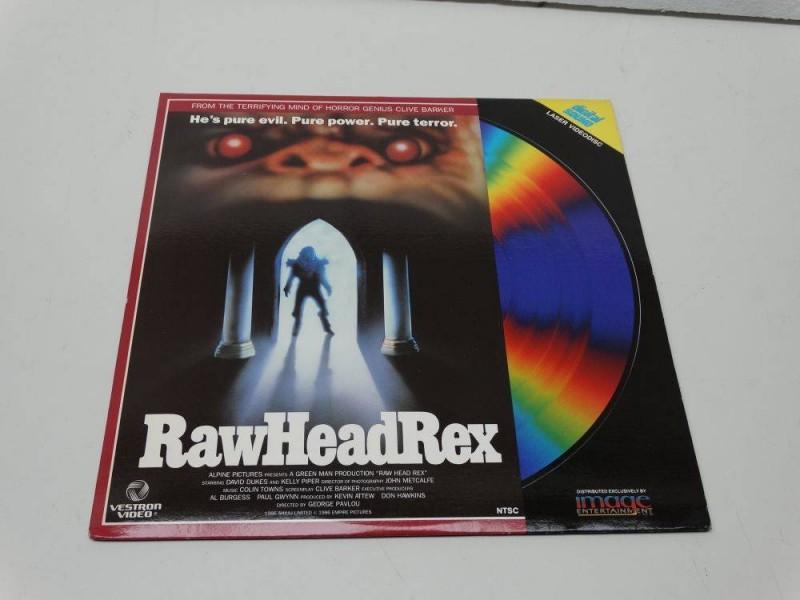 LD LASERDISC /// RAW HEAD REX