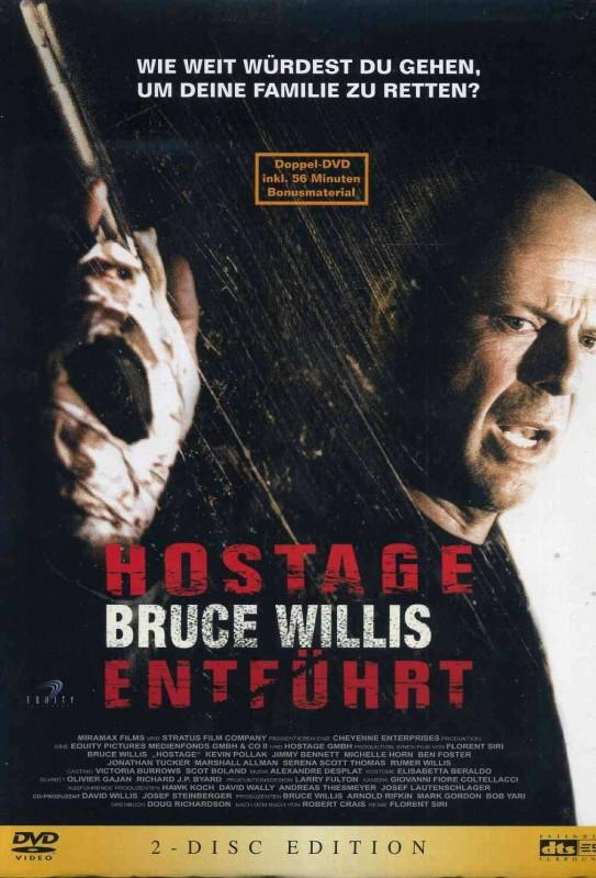 Hostage - Entführt - 2 Disc Edition - OVP