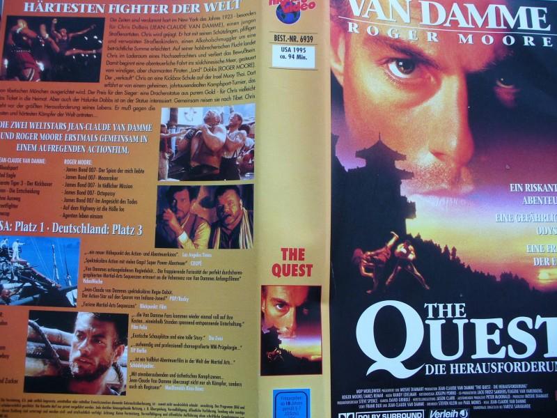 The Quest ... Jean Claude van Damme, Roger Moore
