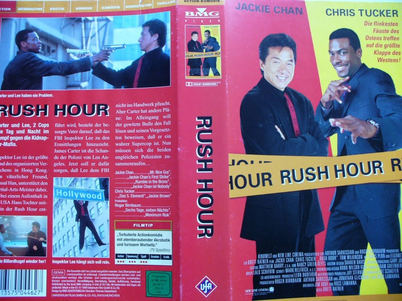 Rush Hour ... Jackie Chan, Chris Tucker