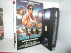VHS - Deadly Weapon - Cameron Mitchell - HARDCOVER