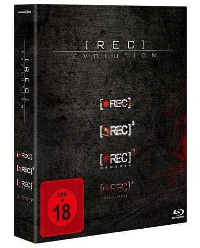 [REC] Evolution - Box (REC 1-4) [BR] (deutsch/uncut) NEU+OVP