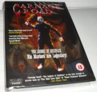 Carnage Road - Quiltface Terror - ULTRARARE DVD
