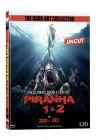BR Piranha 1+2 Mediabook 2D+3D Cover B Limitiert auf 500 Stü