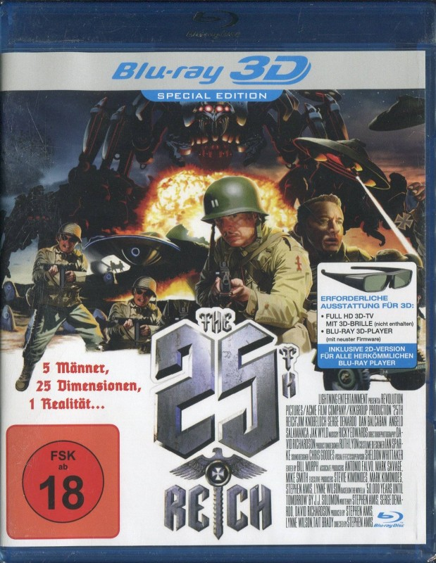 The 25th Reich - 3D (Uncut / Special Edition / Blu-ray)