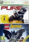 Pure  & Lego Batman  XBOX 360 deusch