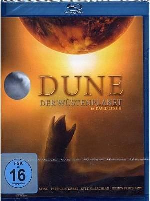 DUNE – DER WÜSTENPLANET (Blu-ray) NEU/OVP