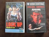 Sylvester Stallone VHS-Sammlung [Warner, UV] Assassins, Lock