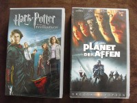 VHS-Sammlung [Warner, Fox] Harry Potter, Planet der Affen