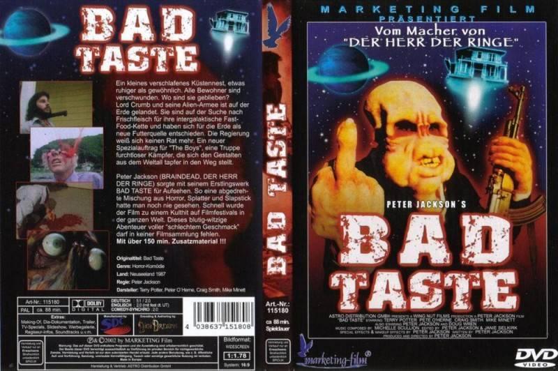 BAD TASTE ***Uncut***Marketing***Peter Jackson***