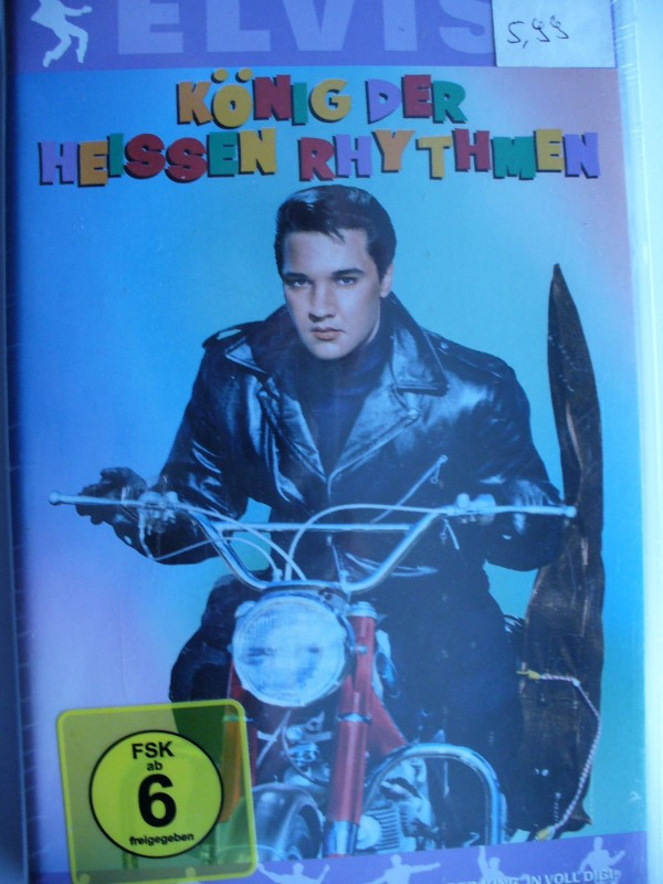 Elvis Presley - König der heissen Rhytmen  ...   OVP !!!