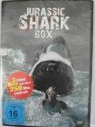 Jurassic Shark Box - alle Teile 1, 2, 3 - riesiger weiße Hai