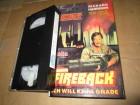 VHS - FIREBACK - Ich will keine Gnade - Starlight Hardcover
