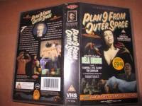 VHS - Plan 9 from outer Space - Bela Lugosi - Vampira