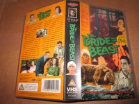 VHS - The Bride and the Beast - Ed Wood - Lance Fuller