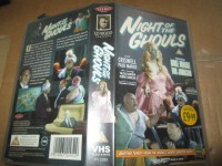 VHS - Night of the Ghouls - Duke Moore - Tor Johnson