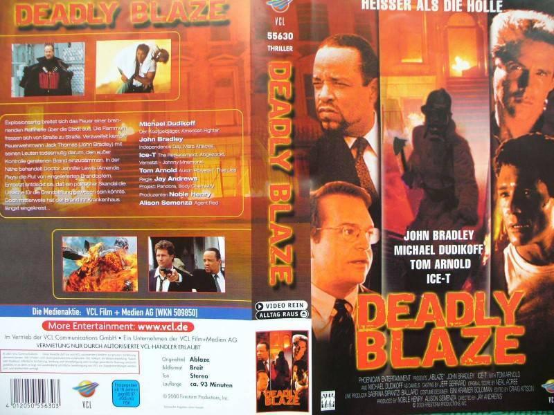 Deadly Blaze ... John Bradley, Michael Dudikoff