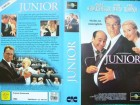 Junior ... Arnold Schwarzenegger, Danny DeVito  ...  VHS !!!