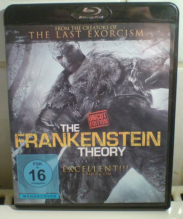 The Frankenstein Theory(Andrew Weiner)uncut Edition Blu-Ray