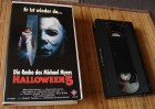 Halloween 5 V 1989 VHS Video Erstauflage UFA 1991