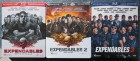 EXPENDABLES 1, 2, 3 - Limited STEELBOOK Editions (Blu-ray)