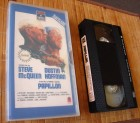 Papillon - 1973 VHS Video RCA Columbia Glasbox rarität 1986