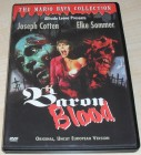 Mario Bava - Baron Blood / Uncut Europe Version DVD SUPERRAR