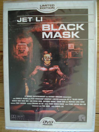 Black Mask - Limited Edition, Wie neu!!!  Indíziert!!!