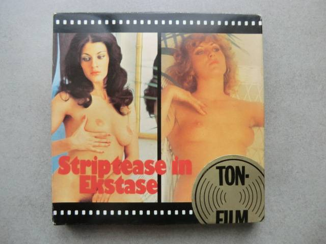 Striptease in Ekstase   Super 8 color 60 m