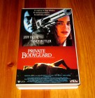 VHS PRIVATE BODYGUARD - JEFF FAHEY - YANCY BUTLER