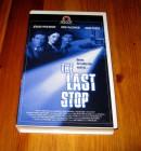 VHS THE LAST STOP - JÜRGEN PROCHNOW - ROSE McGOWAN