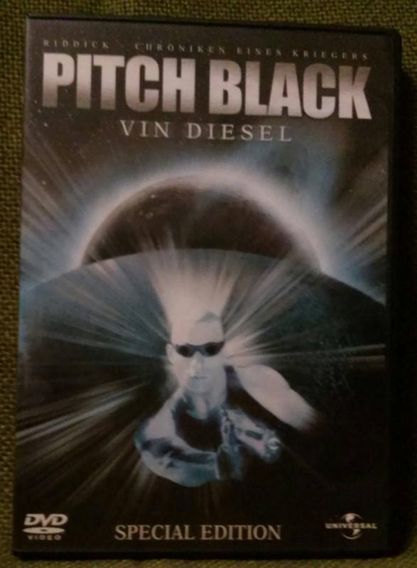 Pitch Black Vin Diesel DVD (Q)