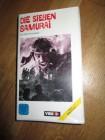 VHS - Die Sieben SAMURAI - Akira Kurosawa