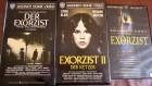 DER EXORZIST - TEILE 1-3 - WARNER HOME - VHS