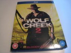 WOLF CREEK 2 - BLOODY RIPPER UNCUT - CODE B BLU RAY