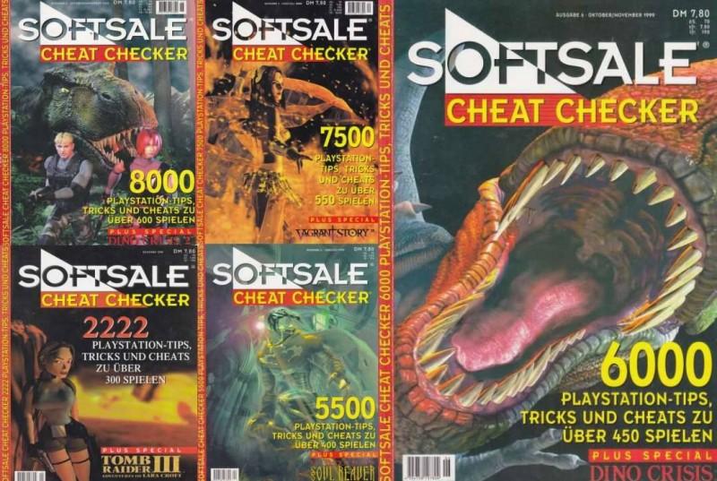 Softsale Cheat Checker für Playstation