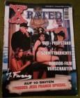 X-Rated Heft Ausgabe 21 drittes Quartal 2002