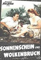 Illustrierte Film Bühne 3300 Sonnenschein und Wolkenbruch