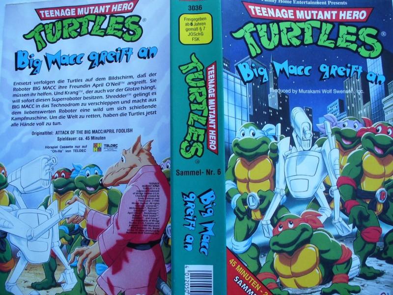Teenage Mutant Hero Turtles ... Big Macc greift an