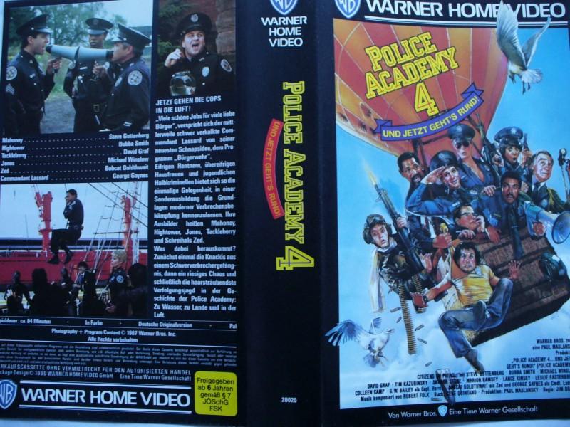 Police Academy 4 Steve Guttenberg Bubba Smith Kaufen Filmundo