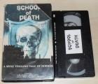 School of Death - NTSC VHS US-Import Spanien Horror RAR