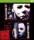 Halloween 4 + 5 - 2 Movies-Edition [Blu-ray] OVP